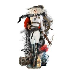 Dead men tell no tales Steampunk Clothing, Steampunk Outfits, Space Pirate, My Works, Paper Dolls, Pirates, Polyvore, Anime, Shopping