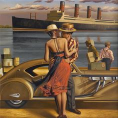 Art Deco Inspired - Peregrine Heathcote | Kai Fine Art