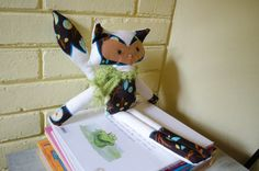 Handmade Eco Fox with antiallergic filling by SeedsOfLoveHandmade