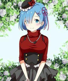 Rem (Re:Zero) - Re:Zero Kara Hajimeru Isekai Seikatsu - Mobile Wallpaper - Zerochan Anime Image Board Anime Sensual, Anime Sexy, Kawaii Anime Girl, Anime Art Girl, Anime Girls, Subaru, Manga Anime, Sad Anime, Anime Demon