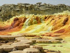 Dallol - The World's Weirdest Volcanic Crater ~ Kuriositas