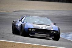 gashetka:  1970 De Tomaso Mangusta Group 4.SCCA A...