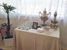 Mesa de chá - aniversario 90 anos