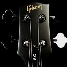 Gibson sg bass headstock