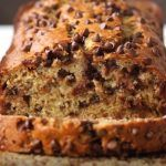 One Bowl Chocolate Chip Banana Bread Recipe by Tasty Banana Pecan Bread Recipe, Peanut Butter Banana Bread, Healthy Banana Bread, Chocolate Chip Banana Bread, Mini Chocolate Chips, One Bowl Banana Bread, Banana Recipes, My Best Recipe, Recipe Tasty