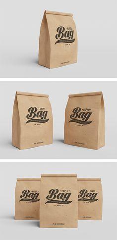 Free Paper Bag PSD Mockups (45 MB) | graphiclist.com