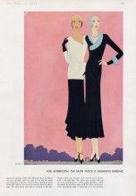 Reynaldo Luza 1931 Worth's afternoon gowns