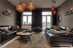 Home & Garden: Un appartement Suédois aux couleurs de l'automne