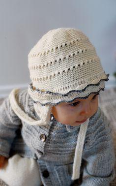 Novita Oy - Neulemalli: Vauvan virkattu myssy