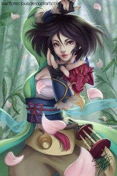 Monk version of Mulan for my RPG Disney series. Film Disney, Disney Nerd, Arte Disney, Disney Fan Art, Disney Love, Disney Magic, Disney Style, Disney And Dreamworks, Disney Pixar