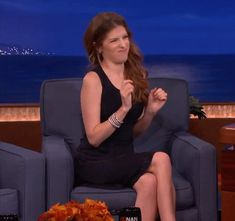 tysm Anna Kendrick for doing really funny things that make perfect GIFs for everything. Percy Jackson, Rick Riordan, Gifs, Funny Cute, The Funny, Mundo Gif, Bae, Fandoms, Pitch Perfect