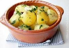 CARTOFI NATUR Romanian Food, Romanian Recipes, Tasty, Yummy Food, Cantaloupe, Potato Salad, Potatoes, Cooking Recipes, Fruit
