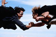 Keanu Reeves & Patrick Swayze, Point Break (1991)
