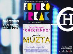 (Gana entradas) FUTURO FREAK presenta: OSCAR HAUYON + MUZTA + Paula Barouh en @BarElAtico ▲▲▲