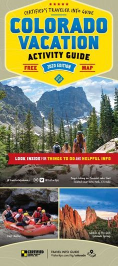 There is so much to do in #Colorado! Check out the Colorado Vacation Actviity Guide for 2020 today or check it out on visitortips.com!