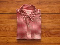 mens vintage brooks brothers gingham shirt by countylinegeneral, $33.00