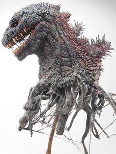 【原型雕模】大山竜 哥吉拉