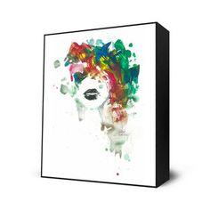 $28.00 Black Lips Mini Art Block, $28, now featured on Fab.