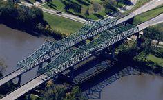 Mormon bridge, Omaha Nebraska