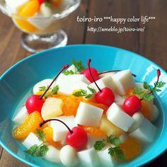 Yogurt Packaging, Luxury Food, Asian Desserts, Fruit Recipes, Fruit Salad, Sweet Tooth, Food And Drink, Menu, Sweets