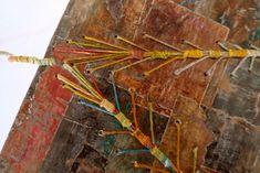 caterpillar stitch - Encadreliure