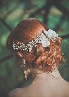 upięcie ślubne, fryzura ślubna