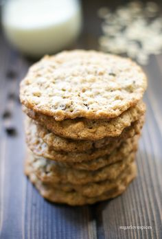 Oatmeal Chocolate Cookies – SugarLoveSpices