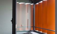 Residencia de estudiantes Indochine, París - Referencia   Griesser España. Utiliza las Mallorquinas de Pantógrafo Griesser.