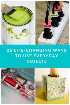 25 Simple Life Hacks Using Everyday Objects are just what you need to change your routine. These are ideal for making your life easier to manage! Household Chores, Household Tips, Kids Office, Home Organization Hacks, Organizing, Dads, Pantry Makeover, Simple Life Hacks, Everyday Objects
