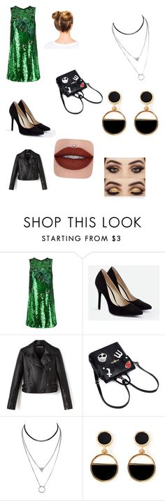 """Lutte new"" by lea-borie on Polyvore featuring Dolce&Gabbana, JustFab and Warehouse"