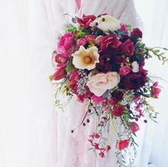 #WeddingBouquet - ślubny bukiet na Instagramie , fot. Instagram/lux_floraldesign