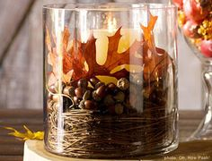 Google Image Result for http://mackenziecollierinteriors.files.wordpress.com/2011/11/thanksgiving-leaves-and-acorn-centerpiece.jpg