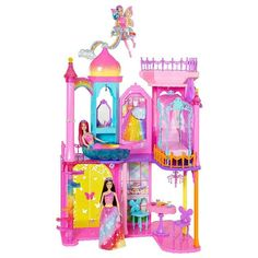 Barbie Rainbow Cove Princess Castle Playset Just $34.98! Down From $100!