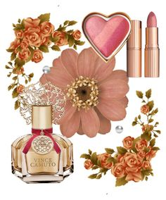"""""""cantik n wangi"""" by sansur ❤ liked on Polyvore featuring beauty, Charlotte Tilbury and Vince Camuto"""