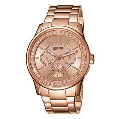 Esprit Ladies Watch Starlite Rosegold ES105442004