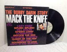 The Bobby Darin Story 1969 Vinyl Record vintage LP RE 50's Rock & Roll || Splish Splash || Mack The Knife || Dream Lover