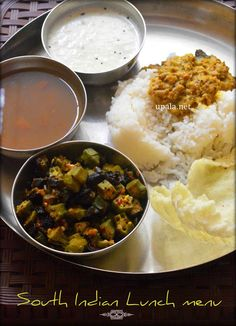 south indian lunch menuhttp://www.upala.net/2015/09/south-indian-lunch-menu-6.html