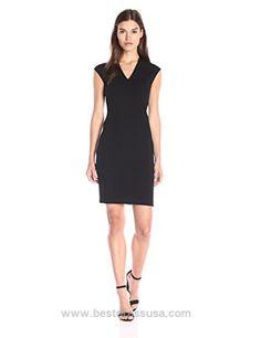 Vince Women's Textured Ponte Vneck Bib Sheath Dress  http://www.bestdressusa.com/vince-womens-textured-ponte-vneck-bib-sheath-dress/