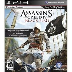 Assassins Creed IV Black Flag Bluray Disc  PlayStation 3 * Want additional info? Click on the image. Note:It is Affiliate Link to Amazon.