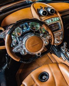 Pagani. car interior Now that's an interior!!!