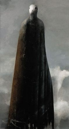 Ruostesiipi / Redwing by Timo Sälekivi, 2007 Dark Aesthetic, Surreal Art, Drawing Illustrations, Fantastic Art, Visual Art, Art, Dark Art, Interesting Art, Portraiture Painting