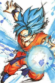 Goku SSGSS by nightwing613 on @DeviantArt