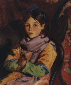 Robert Henri - Mary Agnes, 1924, oil on canvas