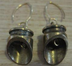 Bullet earrings by Sophia Aisinger - with tutorial