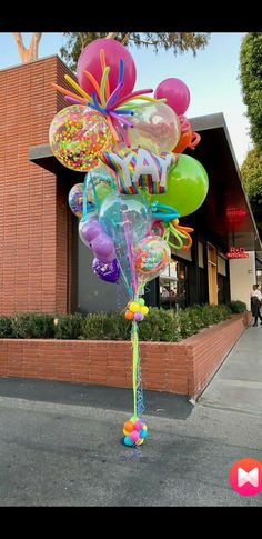 Balloons Galore, Helium Balloons, Balloon Columns, Balloon Garland, Balloon Topiary, Balloon Shop, Balloon Decorations Party, Birthday Party Decorations, Baby Shower Bouquet