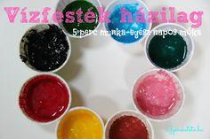 Ahelyett, hogy nagyítóval böngésznéd végig a festékek csomagolását, inkább készítsd el otthon a festéket!