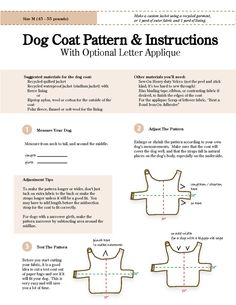 Dog Coat Pattern =]