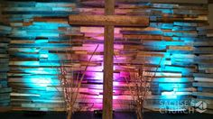 Rugged Tree - Church Stage Design Ideas - Scenic sets and stage design ideas from churches around the globe. Church Interior Design, Church Stage Design, Youth Group Rooms, Youth Ministry, Youth Groups, Ministry Ideas, Kids Church, Church Ideas, Church Backgrounds