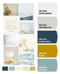 Master Bedroom Paint colors from Chip It! by Sherwin-Williams Master Bedroom Paint colors from Chip It! by Sherwin-Williams Mustard Living Rooms, Mustard Bedroom, Teal Living Rooms, My Living Room, Blue And Yellow Living Room, Kitchen Living, Bedroom Paint Colors, Paint Colors For Living Room, Teal Paint