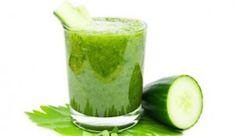Apple, cucumber and cilantro flat tummy smoothie recipe